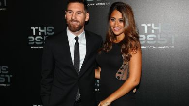 Wife of Barcelona star Lionel Messi reveals the sex of their unborn child