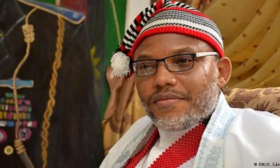British informs Nigerian government plans to issue travel document to Nnamdi Kanu - Source