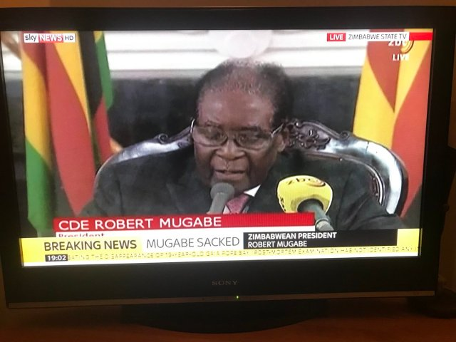 Breaking: Robert Mugabe resigns as Zimbabwe President
