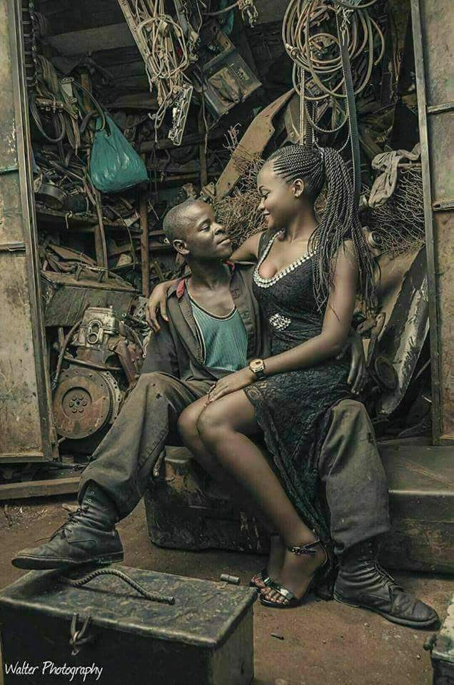Unbeatable African Pre-wedding photo shoot ever