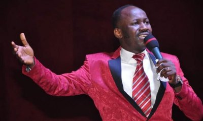 "Lekki Toll Gate Massacre: ""Let his days be few and let another take his office - Apostle Suleman lay curses"