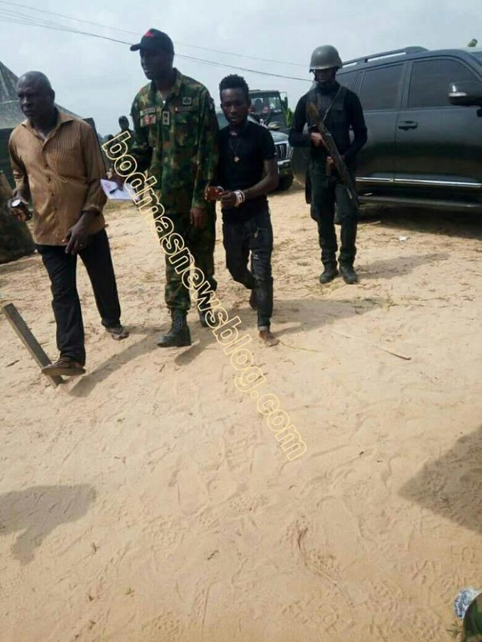 Suspected killer of British missionary, army captain, Karowei arrested