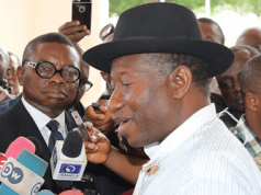 I never said I contributed to El-Rufai's campaign fund – Goodluck Jonathan