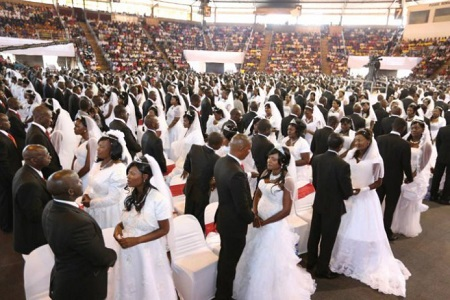 Jubilation as Catholic Priest Sponsors 136 Couples In Nasarawa
