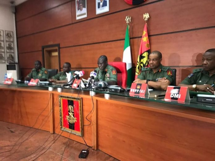 Military spits fire over Amnesty International's report on Boko Haram, IPOB, homosexuality