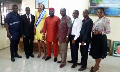 Delta state Tourism and Culture Commissioner receives Miss Nollywood Organizer ahead of Pageant/Awards Night