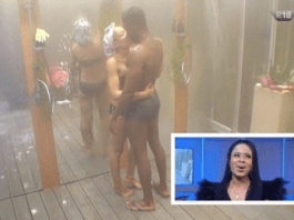 BBnaija 2018: See how Nina reacted when she was shown make out session with Miracle