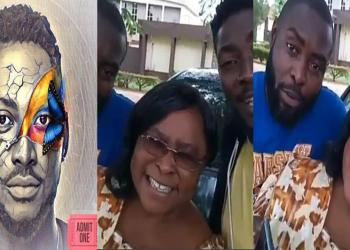 BBNaija 2018 Day 80: Miracle's Mother Campaigns For Him, Urges Fans To Vote - See Video