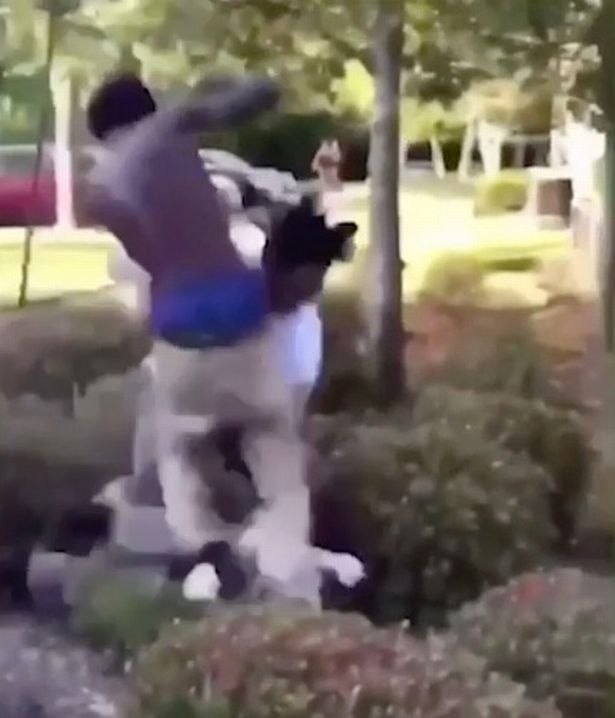 Three thugs took part in the vicious assault (Image: Tallahassee Police Department)