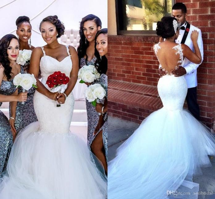 The reason why Brides wear white wedding gowns in church