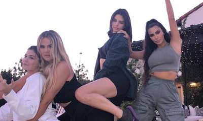 Khloe Kardashian is joined by her sisters to ring in her 34th birthday... as Kim BEGS love rat Tristan Thompson to unblock her on social media