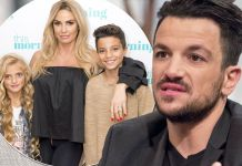 Katie Price admits kids Princess and Junior ARE living with Peter Andre