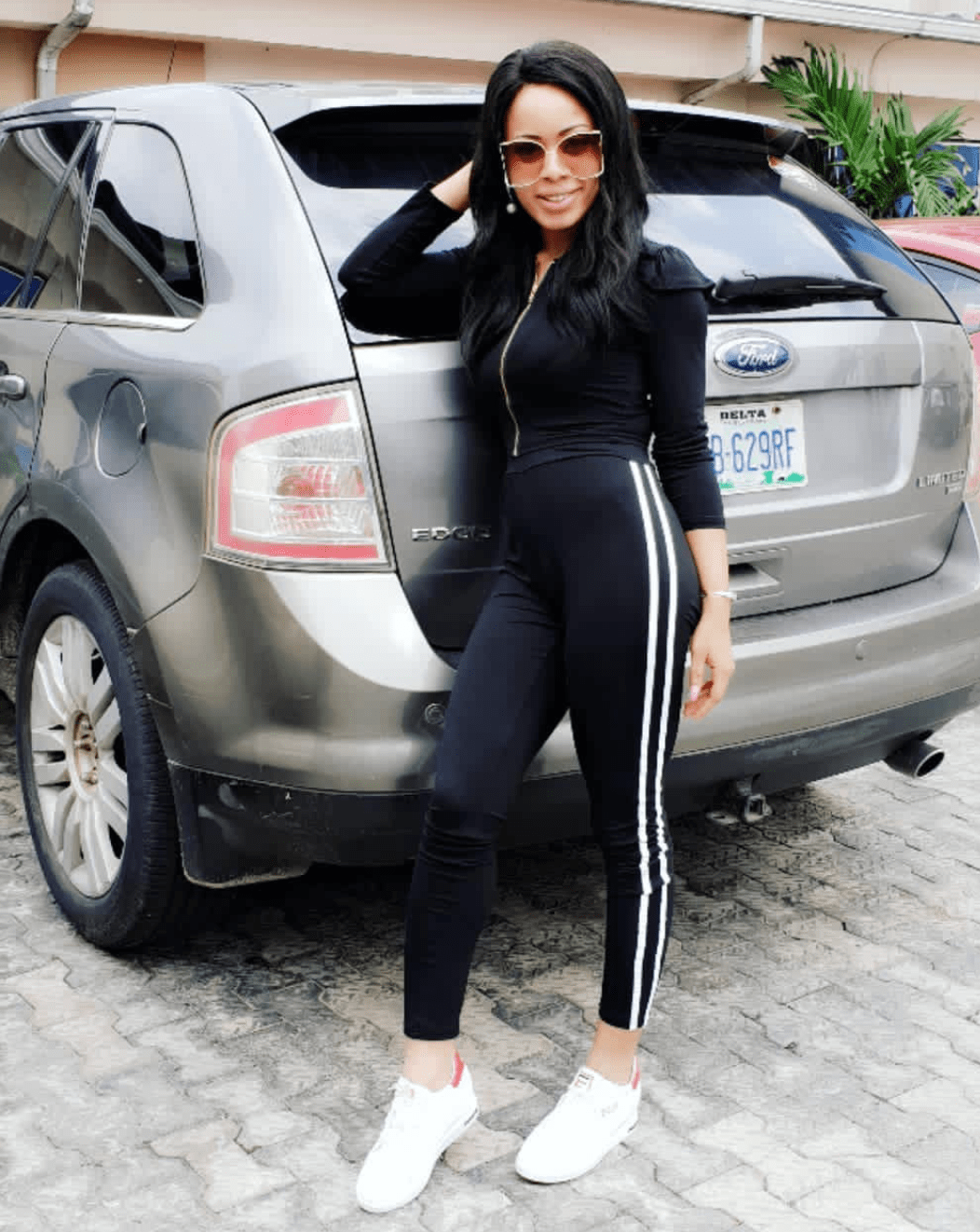 BBNaija Nina poses with her new baby - Photos