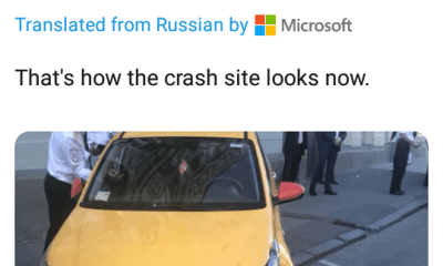 """Taxi ploughs into crowd of """"World Cup fans"""" in Moscow leaving eight injured"""