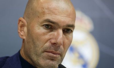 Revealed: The emotional Whatsapp message Zinedine Zidane sent to Real Madrid stars to inform of his exit