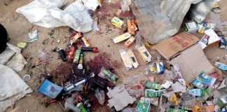 Photos from the scene of explosion that rocked Borno Village