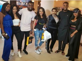 BBNaija: See what happened when Nina was spotted with AY, Iyabo Ojo, Others