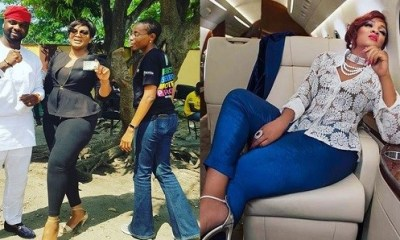 Legend Actress Omotola Jalade-Ekeinde gets her PVC, ready to vote for the first time
