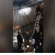 Beyonce had to be rescued by ladder after stage malfunction left her stranded during Poland gig (Video)