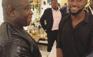 BBNaija Update: Miracle meets with President Of Sierra Leone, Brigadier Julius Maada Bio (Photos)