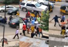 "So sad! Policeman ""kills"" bike rider in Lagos (Watch Video)"