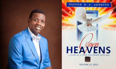 Open Heaven 23 March 2019 - Fasting Or Starving? Written by Pastor E. A. Adeboye