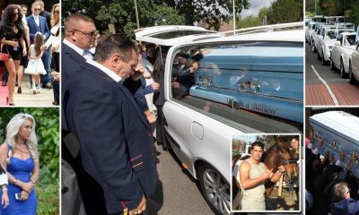 Gypsy king Paddy Doherty's nephew laid to rest in lavish funeral with 16 Rolls-Royces and red carpet for hundreds of mourners