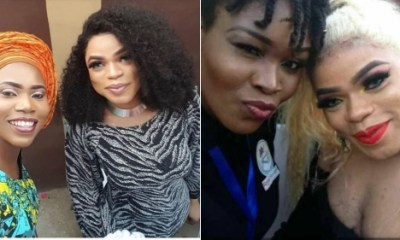 Bobrisky explains why he looked different in unflattering fan photos as he praises female fan over a photo they took