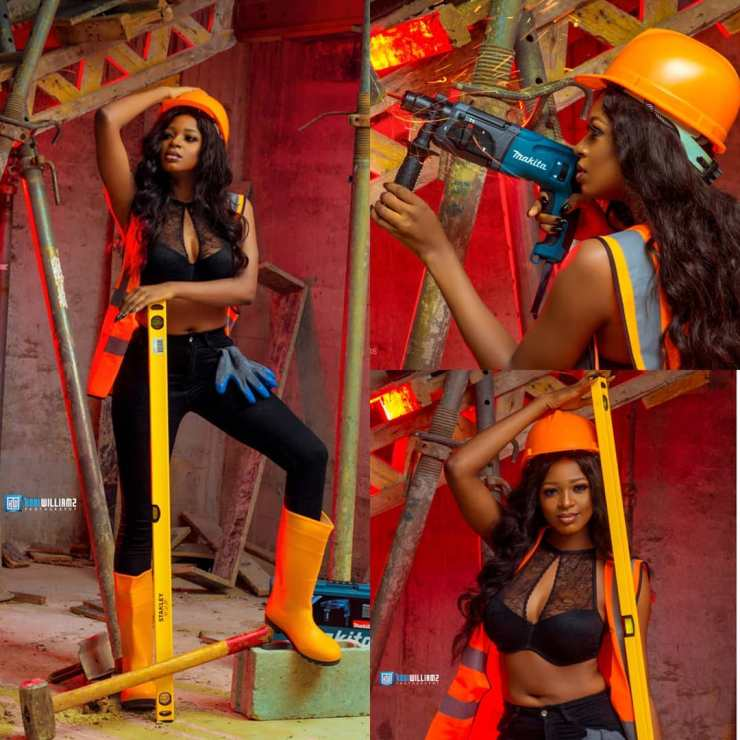 Ex-BBNaija housemate, Ahneeka dishes more juicy birthday photoshoot