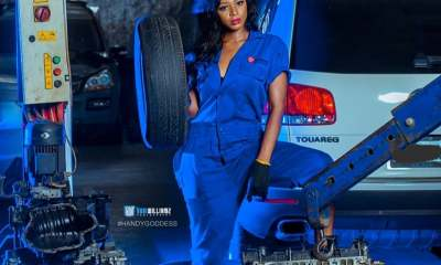 Ahneeka looks adorable on blue-birthday photoshoot