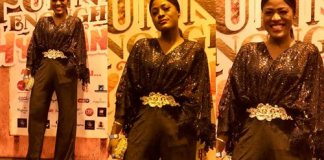 Lovely Alex slays on jumpsuit at 'Funny Enough' See Photos