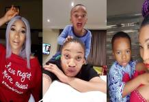 Tonto Dikeh reveals that her son won't bear her ex-husband's last name