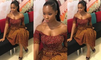 Fashion: Ex-Big Brother Naija housemate, BamBam rocks Ankara style