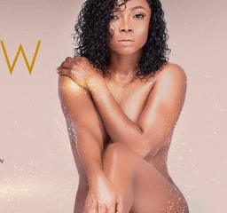 Toke Makinwa strips completely for an ad campaign (See Full Photo)