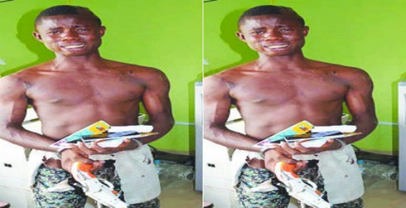 Crime: 18-Year Old Paraded For Raping 7 University Students