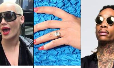 According to TMZ,American model and actress Amber Rose has declared that her $150k engagement ring which her former husband Wiz Khalifa gave her more than 6 years ago has gone missing. She reported it missing after she discovered the ring was no longer in her closet and she is said to be heartbroken as she hoped to pass the ring on to her and Wiz Khalifa's son, Sebastian. Wiz Khalifa proposed to Amber with the $150k engagement ring in 2012 before they sadly ended their marriage in 2014. The police are currently searching for it. But reports say that the search is complicated as Amber has lots of people trooping in and out of her house, so it's hard to say exactly when and how the ring went missing.
