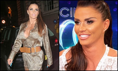 Katie Price 'dropped from Dancing On Ice' line-up after entering rehab
