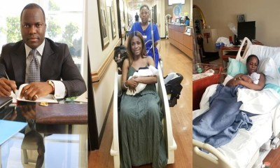 Finally blogger mogul Linda Ikeji discloses the father of her new born baby