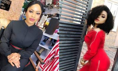 'I will beat and naked Nina if she says trash about me' – Bobrisky explodes