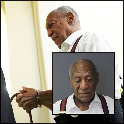 See Photos of Bill Cosby in handcuffs after he was sentenced to prison