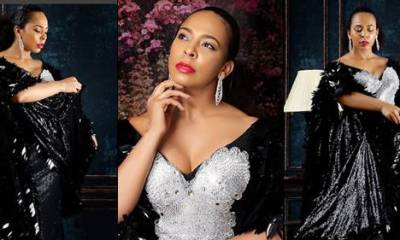 Checkout amazing photos Of Tboss' dazzling black 'Agbada' clothes