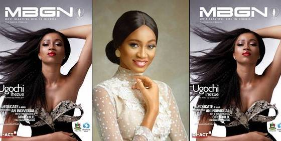 Ex-MBGN World Queen Ugochi Ihezue glows as she covers MBGN magazine
