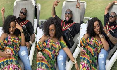 Checkout some adorable photos of Davido and Chioma lounging together