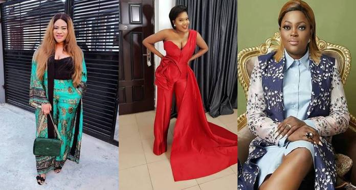"""Except Toyin Abraham and Funke Akindele, all actresses don't feed off their hard work"" – Nkechi Blessing"