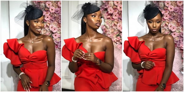 Photo of BamBam looks hot and sexy in her red gown (Photos)