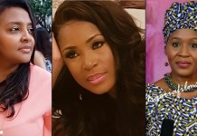 Abacha's Daughter Gumsu, Kemi Olunloyo Attack Linda Ikeji , Gumsu Says 'The Devil Lives In Linda'