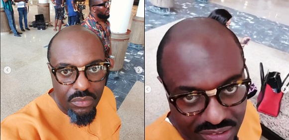 Photo of Nollywood Actor Jim Iyke Goes Bald For A Movie Role (Photo/Video)