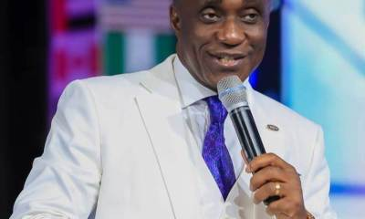 Pastor David Ibiyeomie's Salvation Ministries opens up on alleged gay pastor