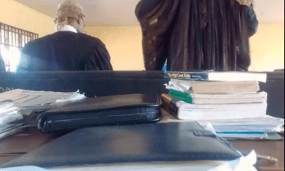 Senior lawyer who wears tattered robe and wig to court goes viral