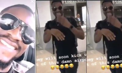 BBNaija Tobi Bakre breaks silence over his arrest and detain in Dubai